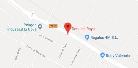 Contacto Y Teléfono De Detalles Raya Tienda De Detalles Valencia